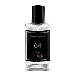 FM 64 pánska intense parfumovaná voda inšpirovaná vôňou Giorgio Armani - Black Code