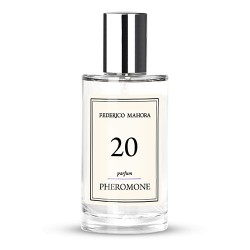 FM 20f dámsky parfum s feromónmi 50 ml, inšpirovaný vôňou Elizabeth Arden - Red Door Velvet