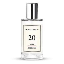 FM 20 dámsky intense parfum 50 ml, inšpirovaný vôňou Elizabeth Arden - Red Door Velvet