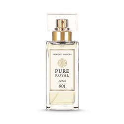 FM 801 Pure Royal dámsky parfum inšpirovaný vôňou Dior - Miss Dior 2017