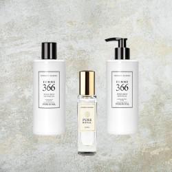 Dámsky set Pure Royal FM 366, inšpirovaný vôňou Yves Saint laurent - Black Ópium