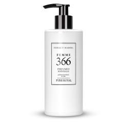 FM 366 dámsky parfumovaný telový balzam 300 ml, inšpirovaný vôňou Yves Saint laurent - Black Ópium