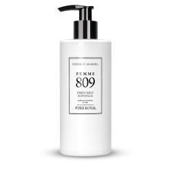 FM 809 dámsky parfumovaný telový balzam 300 ml, inšpirovaný vôňou Tom Ford - Black Orchid