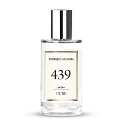 FM 439 dámsky parfum 50 ml, inšpirovaný vôňou HERMES - Eau des Merveilles Bleue