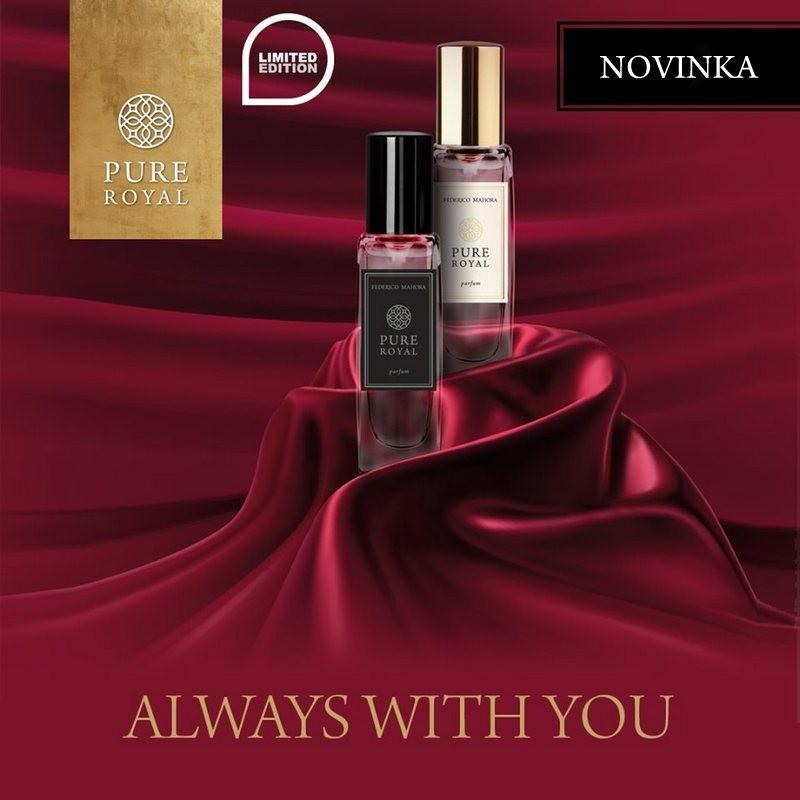 NOVINKY - Pánske a dámske parfumy PURE ROYAL 15 ml