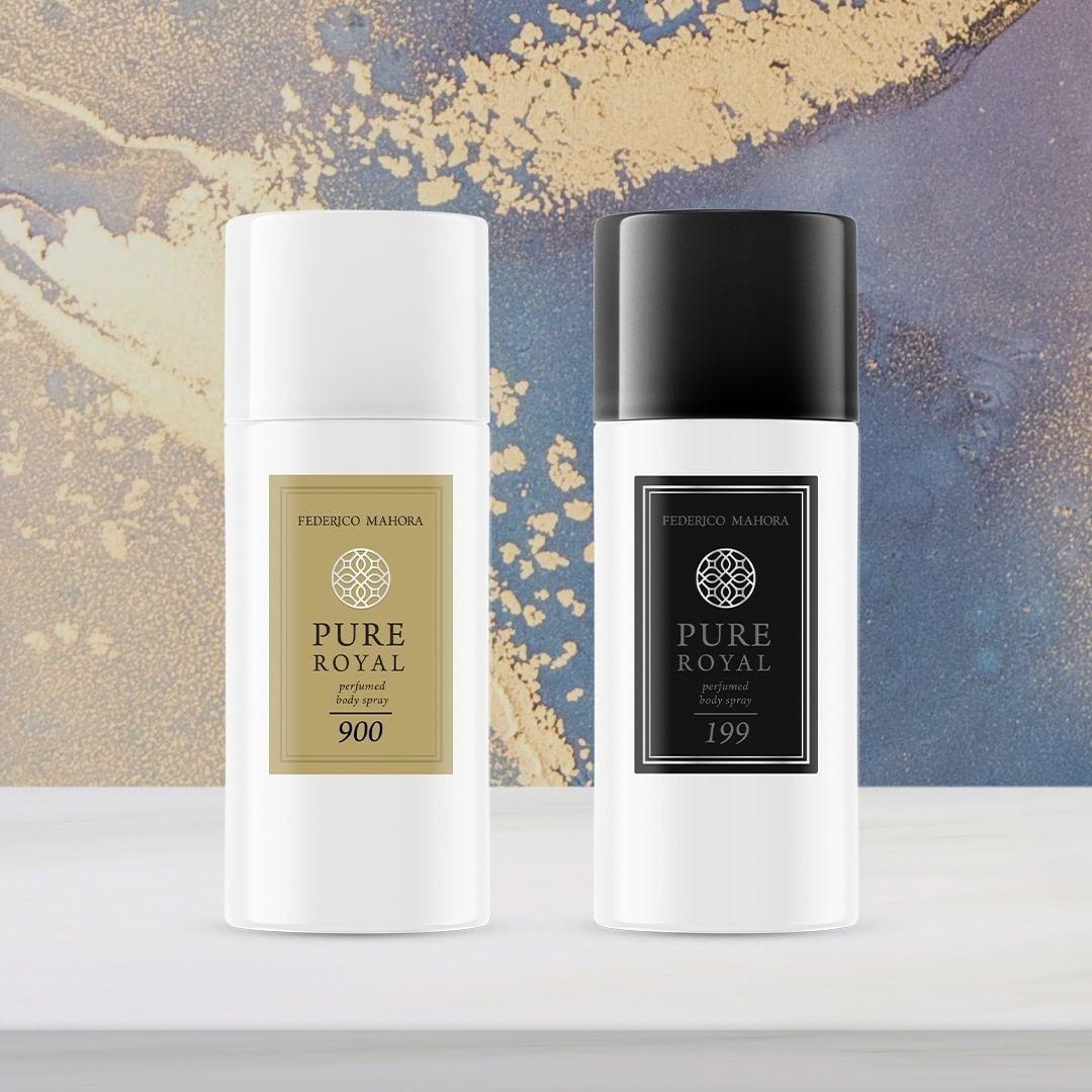 Novinka! FM Pure Royal parfumovaný telový sprej 150 ml