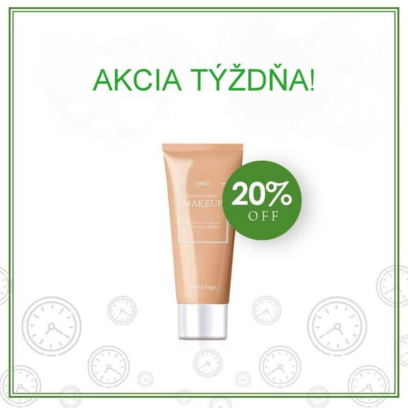 20 % ZĽAVA - Make-up  - AKCIA TÝŽDŇA - Od 15.04 - 21.04.2019 do 23:59 hod