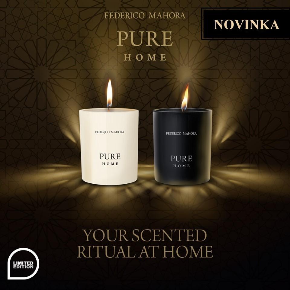 Vonné sviečky HOME RITUAL Pure