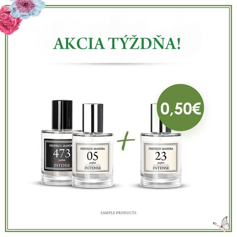 Parfumy INTENSE 30ml - AKCIA TÝŽDŇA - Od 25.03 - 31.03.2019 do 23:59 hod